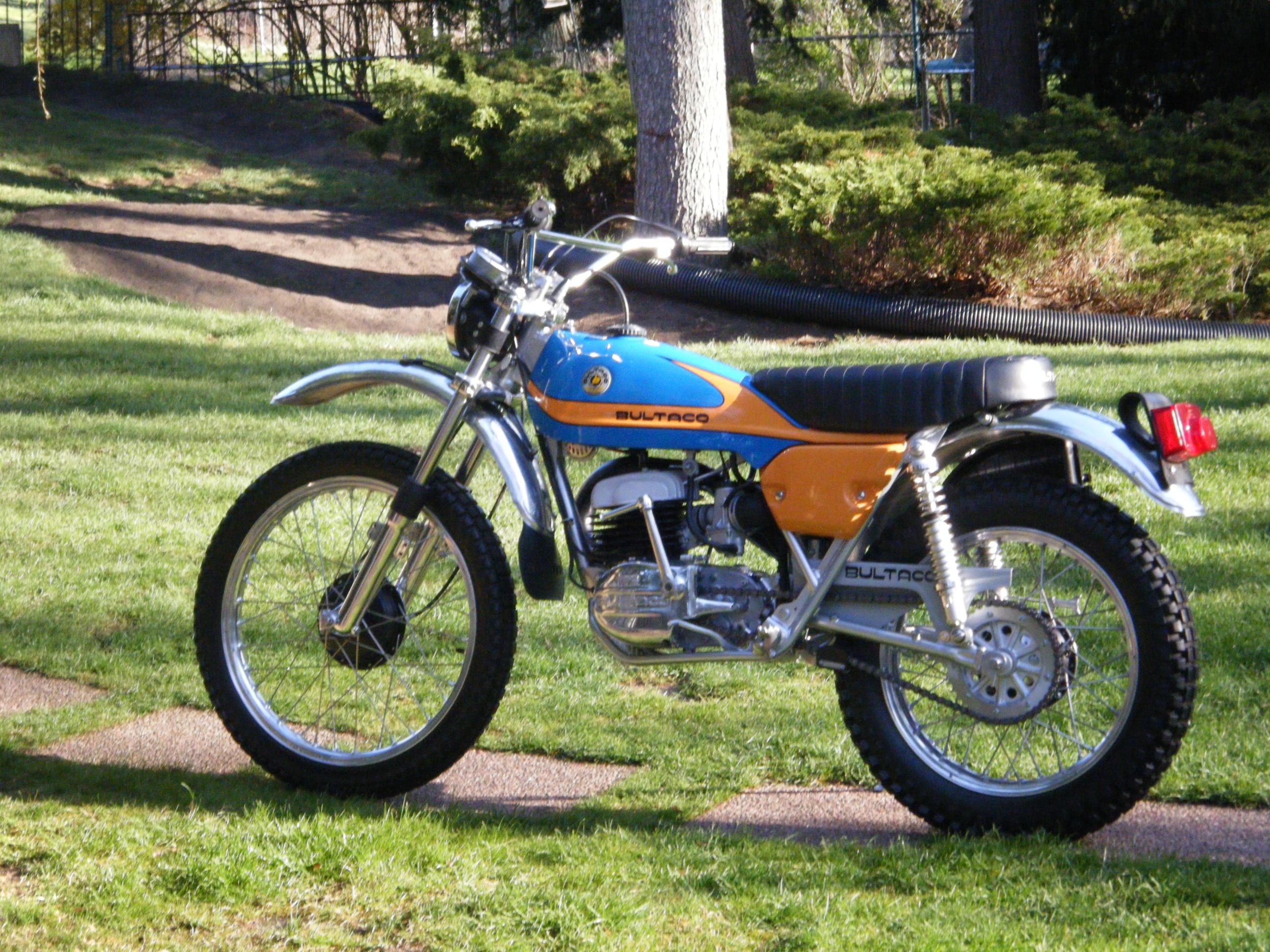 Bultaco | Chuck Davis Restorations