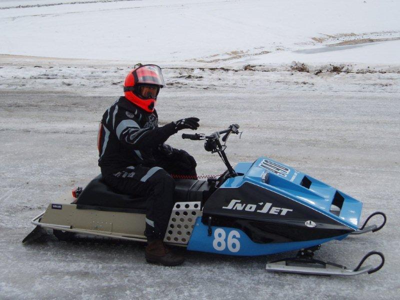 Snowmobile Racing Chuck Davis Restorations